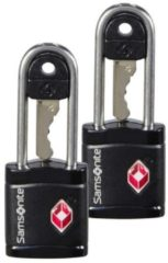 Zwarte Samsonite - Global Ta Key Lock Tsa X2 Black