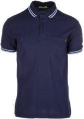 Blue Versace Jeans Polo t-shirt maglia maniche corte uomo embroidery regular