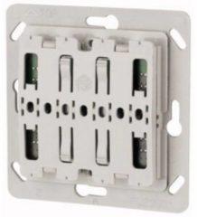 Grijze Eaton XComfort - CTAA-01/04 - 55 x 55 Pulsdrukker 1-voudig zonder LED