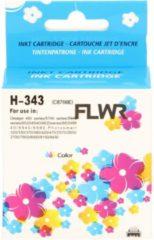 Pixeljet FLWR - Inktcartridge / 343 / Kleur - Geschikt voor HP