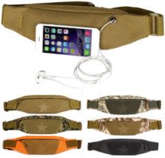 Meco Unisex Outdooors Wasit Bag Nylon Waist Running Phone Bag Anti Theft Sport Waistband