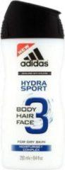 Adidas Showergel - Hydra Sport 3in1 250 ml.