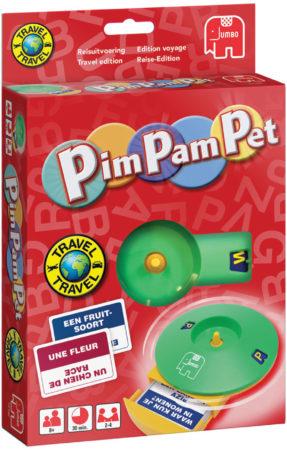 Afbeelding van JUMBO Reisspel Pim Pam Pet K5 (6012192)