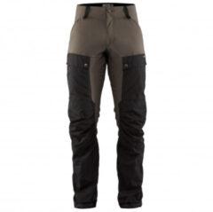 Fjällräven - Keb Trousers - Trekkingbroeken maat 54 - Long - Fixed Length, zwart/bruin