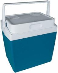Mobicool Koelbox V26 25 Liter Met 12/230v Stekker Blauw