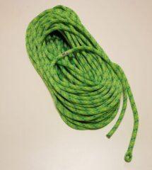 Petzl Flow 11.3mm soepele kernmantellijn met spliced touweinde 35m groen 1 x splice