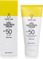 YOUTH LAB. Daily Sunscreen Cream SPF 50 zonnebrandcrème Gezicht 50 ml
