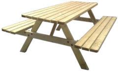 Groene Westwood | Picknicktafel Sietske | Opklapbaar 240 cm