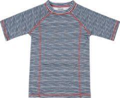 Blauwe Ducksday UV Zwemshirt korte mouw voor kinderen unisex Flicflac