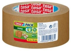Tesa 57180-00-02 57180-00000-01 Pakband tesapack Paper ecoLogo Bruin (l x b) 50 m x 50 mm 1 rol/rollen