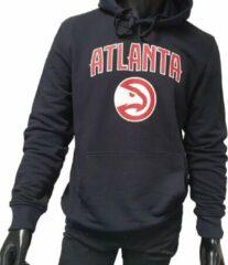 Zwarte New Era NBA Team Logo PO Hoody Atlanta Hawks Black Maat M
