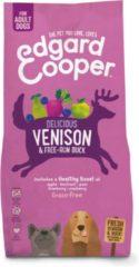 Edgard-Cooper Edgard&Cooper Delicious Venison Adult Hert&Eend&Appel - Hondenvoer - 7 kg Graanvrij