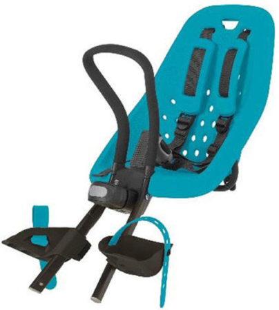 Afbeelding van Turquoise Thule Fietsstoel RideAlong Mini donkergrijs