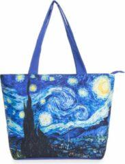 Robin Ruth Shopper Tas Medium 48x31cm Van Gogh - Sterrennacht