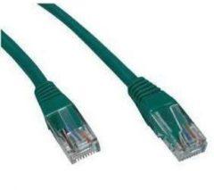 Groene Valueline Techtube Pro - Internetkabel UTP CAT.5e - groen - 15 meter