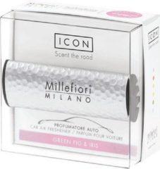 Millefiori Milano Auto parfum groen Fig & Iris (Metal Shades)