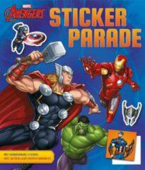 Blauwe Deltas Marvel Avengers Sticker Parade