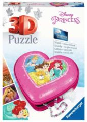 Ravensburger Hartendoosje Disney Princess - Girly Girl 3D puzzel - 54 stukjes