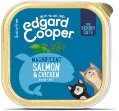 Edgard-Cooper Edgard&Cooper Kuipje Senior - Kattenvoer - Kip Zalm 85 g
