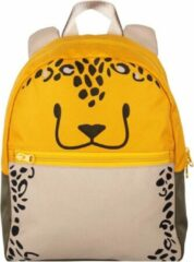 The Little Green Bag The Little groen Bag Schooltas Fauna Leopard Geel