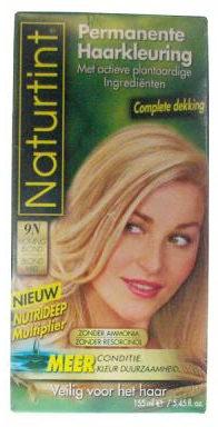 Afbeelding van Naturtint Permanente Kleuring 9N Honingblond