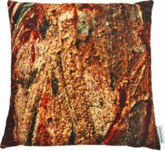 Swan Spring Raw Earth Golden Core | Kussen | Bruin | Goudgeel | 45 x 45cm