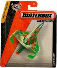 Groene Mattel MATCHBOX SKY BUSTERS
