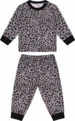 Beeren Baby Pyjama Leopard Bruin-Zwart 74/80