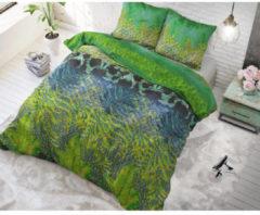 Sleeptime Asian Forest - Dekbedovertrekset - Lits-Jumeaux - 240x200/220 + 2 kussenslopen 60x70 - Groen