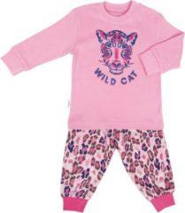 Roze Frogs and Dogs Meisjes Pyjama Wild Girl Rose Shadow - Maat 98