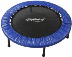 Zwarte Trend24 - Trampoline - Trampoline fitness - Trampolines - Rond - Mini - Binnen en buiten - Max 100 KG - 45 inch