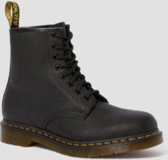 Dr. Martens Dames Laars 1460 Black Greasy Boots Zwart