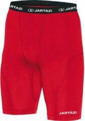 Jartazi Thermobroek Kort Heren Polyester/elastaan Rood Mt S