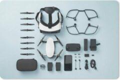 MousePadParadise Muismat Knolling - Apparaten - Knolling lay-out van drone apparaten muismat rubber - 27x18 cm - Muismat met foto