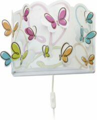 Dalber Butterfly - Wandlamp - Veelkleurig
