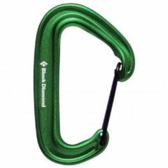 Black Diamond - Miniwire Carabiner - Snapkarabiner olijfgroen/groen