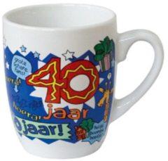 123 Kado koffiemokken Cartoonmok 40 jaar man