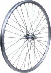 Rodi Voorwiel Freeway 26 X 1.75 Inch Vaste As Aluminium Zilver