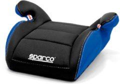 Universeel Sparco zitverhoger F100 Zwart/Blauw 15 tot 36 kg, 4 t/m 12 jaar (E1)