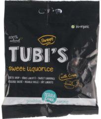 Terrasana Tubi's Cacao zoete drop eko 80 Gram