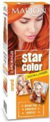 Marion Star Color - Oranje Highlights Haarverf Koningsdag 2x 35 ML - Semi-Permanent ( 3 Wasbeurten ) - Dames Haarkleur