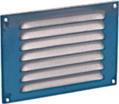 Nedco gestanste plaatrooster, RVS, frontbreedte 220mm