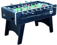 Zwarte Cougar Arena Voetbaltafel / Tafelvoetbal / 141 x 75 x 88 cm / Incl. ballen en scoretellers