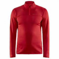Rode Craft Core Gain Midlayer Sportshirt Heren - Maat L