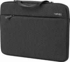 """NATEC CLAM 15.6"""" notebooktas 39,6 cm (15.6"""") Aktetas Zwart"""