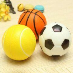Oranje Shopmore Anti-Stress Ballen - 5 Stuks