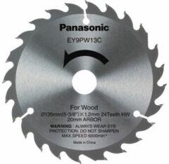 Panasonic EY9PW13C houtzaagblad 135 x 1.2 mm, 24T