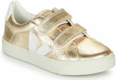 Gouden Sneakers Small Esplar Velcro Leather by Veja