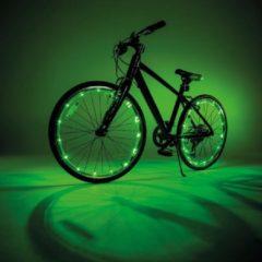 Wheely Bright, groene fietsverlichting voor wielen – wielverlichting, fietslamp