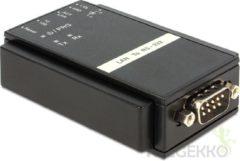 Zwarte DeLOCK 62504 RS-232 RJ45 Zwart kabeladapter/verloopstukje